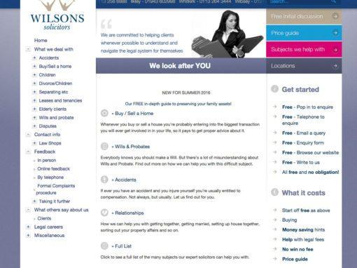 Wilsons Solicitors