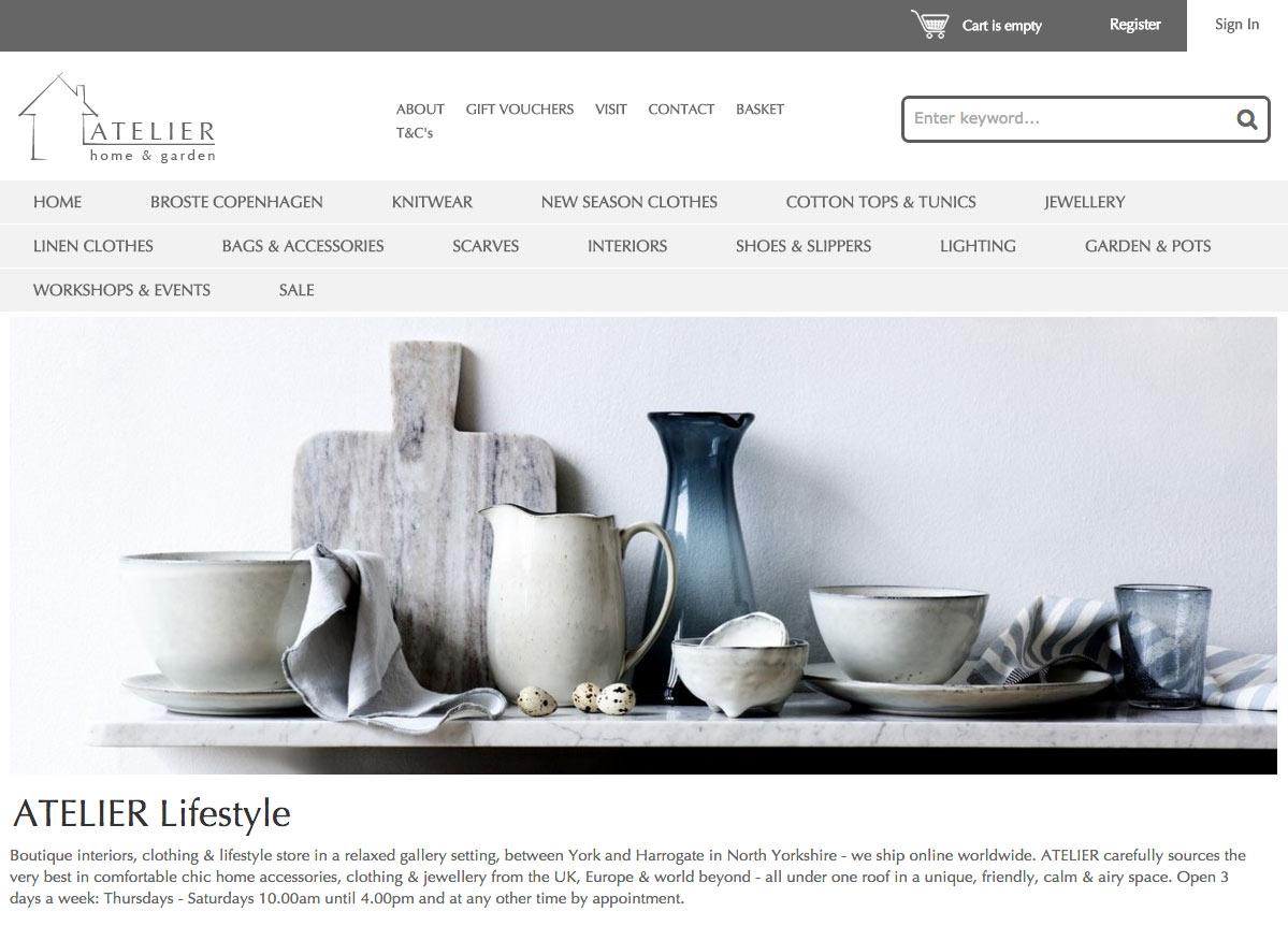 Ecommerce site designer Shipley