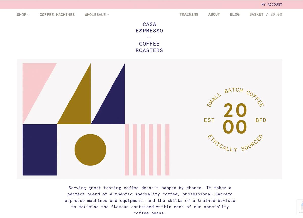 Web Design Coffee roasting companies